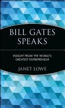 Bill Gates Speaks