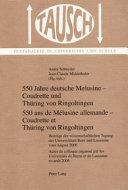 550 Jahre deutsche Melusine