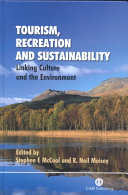 Tourism  Recreation  and Sustainability