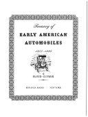Treasury of Early American Automobiles