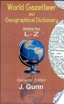 World Gazetteer and Geographical Dictionary Book