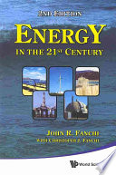 Energy In The 21st Century Book PDF