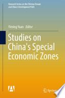 Studies on China s Special Economic Zones