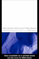 Religion With Out Religion