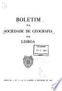 Boletim da Sociedade de Geografia de Lisboa