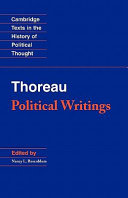 Thoreau  Political Writings