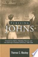 Pursuing Johns