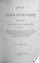 History of Dearborn and Ohio Counties  Indiana