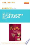 Contemporary Implant Dentistry - Pageburst E-Book on Kno (Retail Access Card)