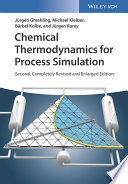 Chemical Thermodynamics For Process Simulation Book PDF