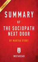 Summary Of The Sociopath Next Door Book PDF