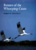 Return of the Whooping Crane Book