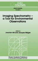 Imaging Spectrometry    a Tool for Environmental Observations