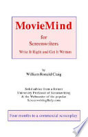 Moviemind For Screenwriters Book