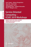 Service Oriented Computing     ICSOC 2019 Workshops