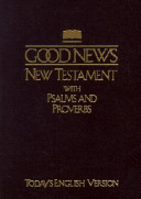 Good News New Testament With Psalms And Proverbs Tev Pocket Size