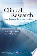 Clinical Research Book PDF