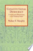 Constitutional Democracy Book