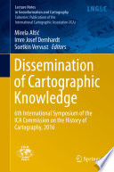 Read Online Dissemination of Cartographic Knowledge For Free