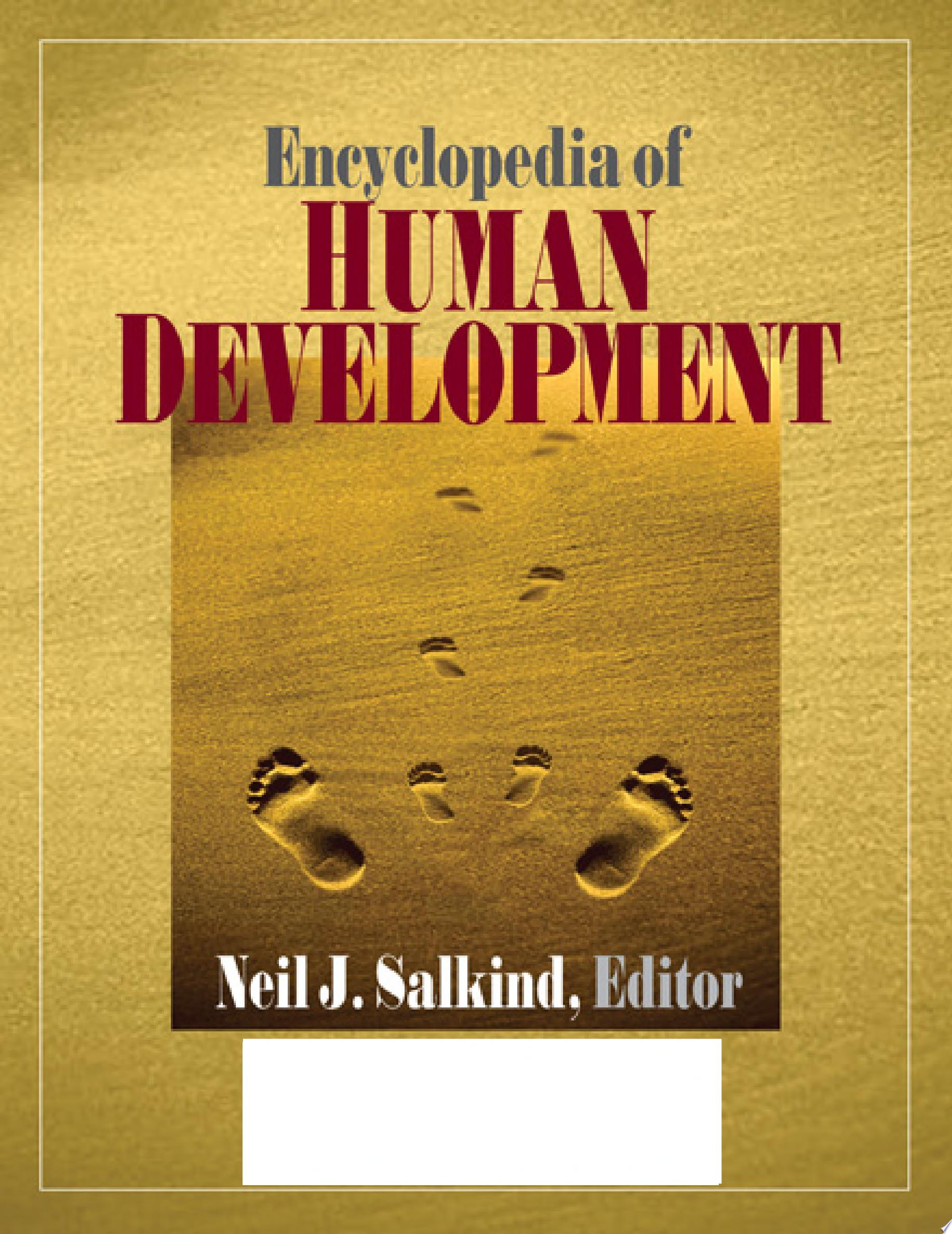 Encyclopedia of Human Development