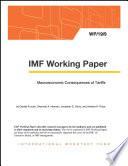 Macroeconomic Consequences of Tariffs