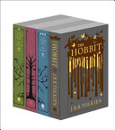 The Hobbit   The Lord of the Rings 4 book Clothbound Special Editions Book