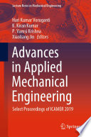 Advances In Applied Mechanical Engineering Book PDF