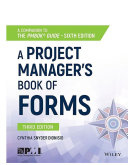 A Project Manager's Book of Forms Pdf/ePub eBook