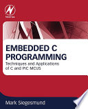 Embedded C Programming Book PDF