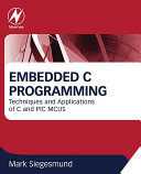 Embedded C Programming Pdf/ePub eBook