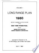 Report of Member Electric Systems of the New York Power Pool and the Empire State Electric Energy Research Corporation