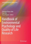 Handbook of Environmental Psychology and Quality of Life Research Book