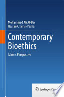 Contemporary Bioethics