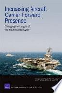 Increasing Aircraft Carrier Forward Presence