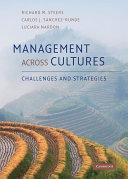 Pdf Management across Cultures Telecharger