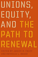 Unions, Equity, and the Path to Renewal Pdf/ePub eBook