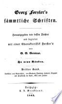 Bd. Ansichten vom Niederrhein, von Brabant, Flandern, Holland, England und Frankreich im April, Mai und Junius