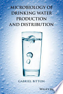 Microbiology Of Drinking Water Book PDF