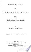Modern Literature and Literary Men