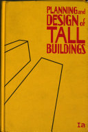 Planning and Design of Tall Buildings Book