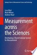 Measurement across the Sciences