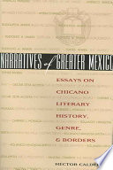 Narratives of Greater Mexico Book
