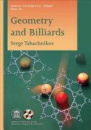 Geometry and Billiards