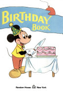 The Mickey Mouse Birthday Book
