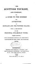 The Scottish Tourist, and Itinerary
