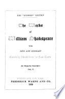 The Works of William Shakspeare  King Lear   Cymbeline   Macbeth Book