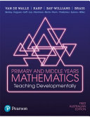 Cover of Primary and Middle Years Mathematics: Teaching Developmentally