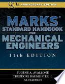 Marks Standard Handbook For Mechanical Engineers Book PDF