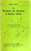 The Development and Chronology of Chaucer s Works