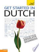 Get Started In Beginner S Dutch Teach Yourself